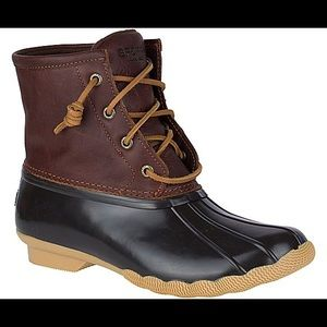 Sperry | Women's Saltwater Duck Boot | Size 10
